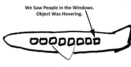 Sketch of Object Showing Entities in Windows.