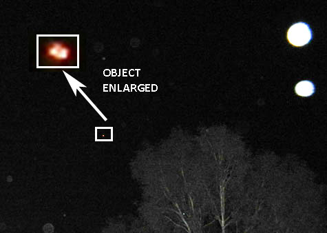 Photo of Object & Enlarged Enhancement.
