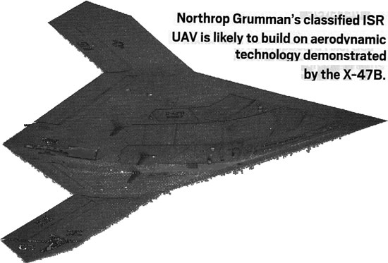 NORTHROP GRUMMAN&#039;S CLASSIFIED UAV.