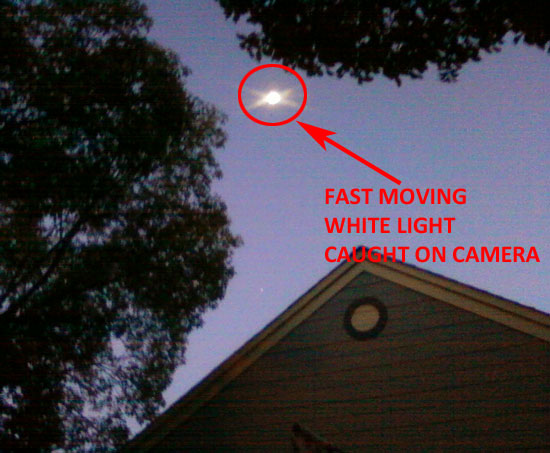 1 OF PHOTOS OF FAST MOVING BRIGHT LIGHT.