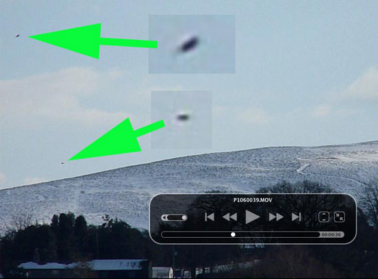 ONE OF SEVERAL IMAGES EXTRACTED FROM VIDEO SENT BY WITNESS.