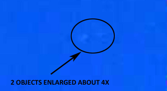 2 OBJECTS ENLARGED ABOUT 4X.