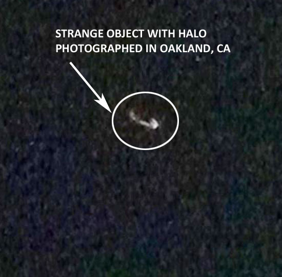PHOTO OF OBJECT SURROUNDED BY HALO.