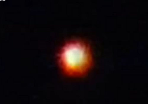 ONE OF SEVERAL PHOTOS TAKEN OF AERIAL ORB.