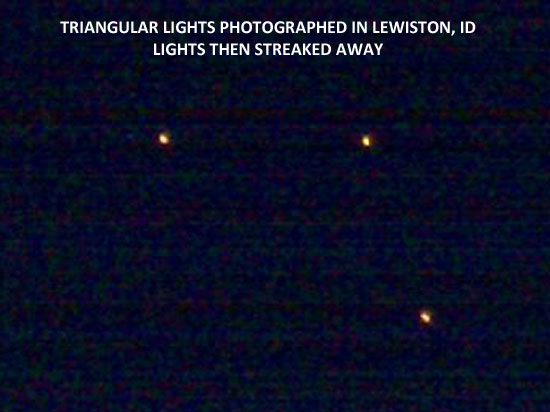 SLIGHT ENLARGEMENT OF LIGHTS SEEN & PHOTOGRAPHED.