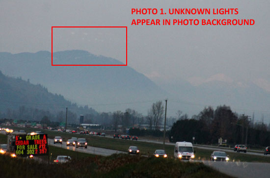 1ST PHOTO OF LIGHTS IN PHOTO BACKGROUND.