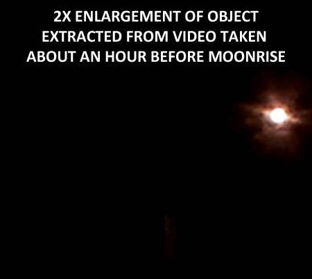 STILL IMAGE EXTRACTED FROM VIDEO OF BRIGHT OBJECT.