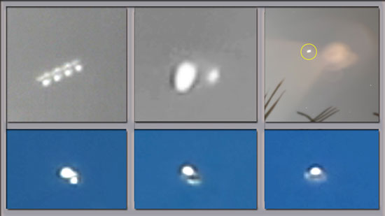 MORE IMAGES OF UFOS EXTRACTED FROM VIDEOS.
