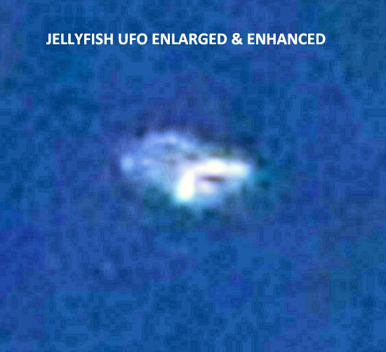 ENLARGEMENT & ADJUSTED CONTRAST OF JELLYFISH LIKE UFO PHOTO.