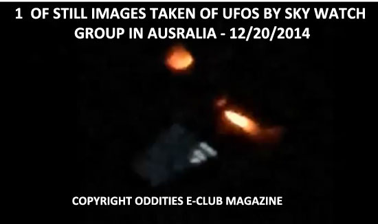 1 of Photos Taken of UFO by a Sky Watch Group in Australia.