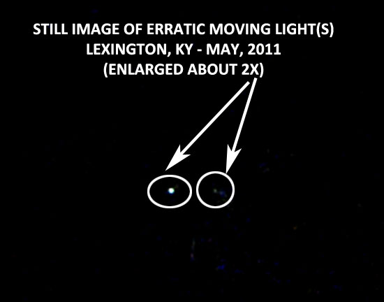 STILL IMAGE OF LIGHT(S) EXTRACTED FROM VIDEO.