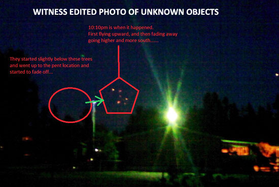 PHOTO OF ORANGE ORBS EDITED BY WITNESS.