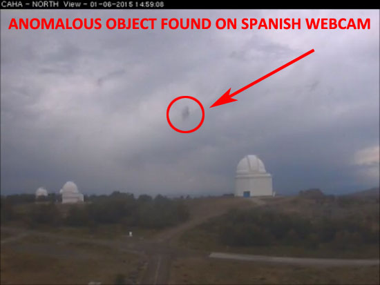 STILL IMAGE OF ANOMALOUS OBJECT EXTRACTED FROM VIDEO.