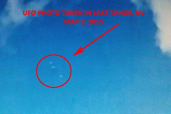 WHITE LIGHT UFO PHOTO LAKE TAHOE.
