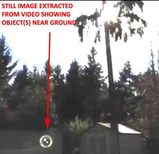 STILL IMAGE SHOWING OBJECT(S) NEAR GROUND.