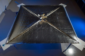 PHOTO OF EXPERIMENTAL SAIL.