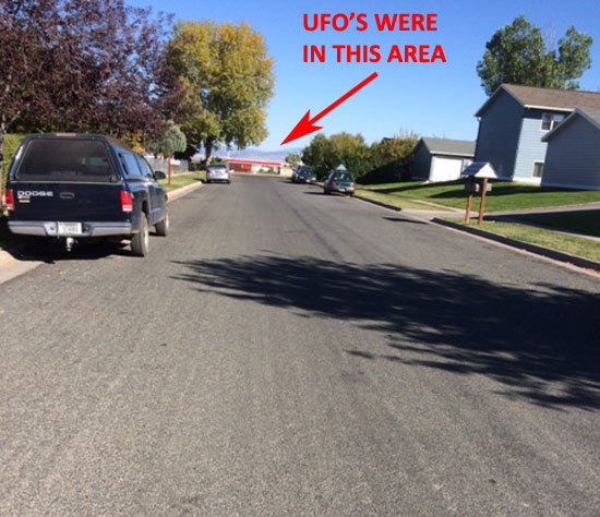 DAY PHOTO SHOWING BACKGROUND WHERE UFO VIDEO WAS TAKEN.