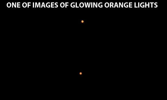 1 OR IMAGES TAKEN OF ORANGE LIGHTS.