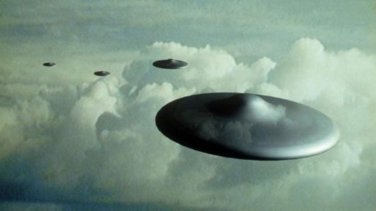 THE DOCUMENTS INCLUDE RECORDS OF UFO SIGHTINGS.