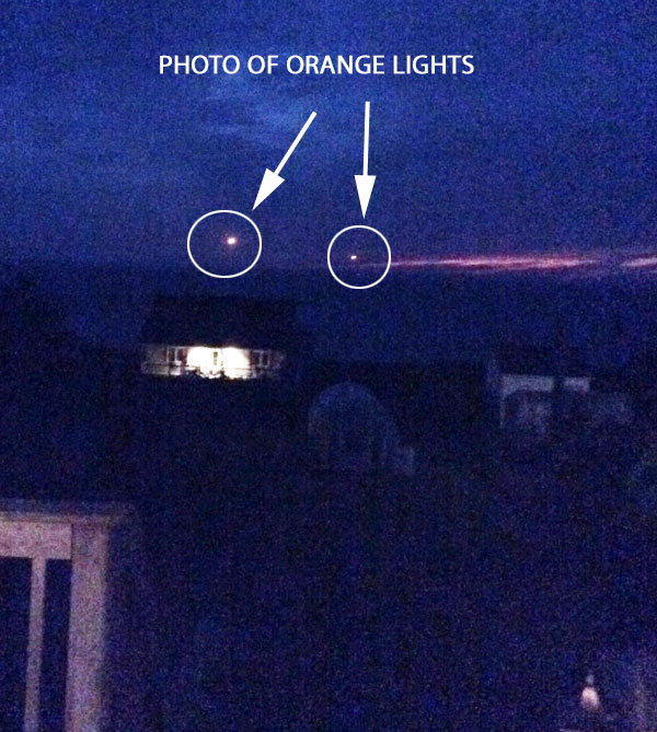 1 OF PHOTOS OF ORANGE LIGHTS.