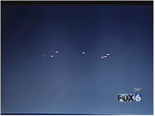 Still Image of Lights Extracted From Video. (Not All Lights Are Visible in This Image.)