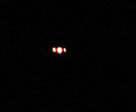 Photo Showing the Object With 3 Well Defined Lights.