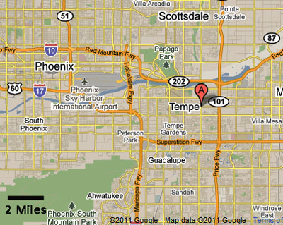Tempe Map Related Keywords Amp Suggestions  Tempe Map Long