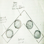 Sketch of Boomerang Shaped Object Prepared by One of the Witnesses.