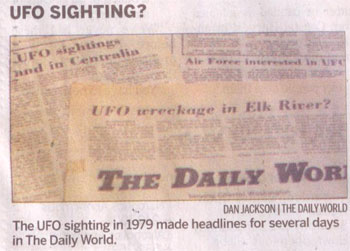 Archived Image of 1979 Article About Alleged Elk River UFO Crash.