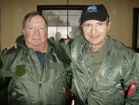Photo of Jesse Marcel Jr. & William Puckett Taken 2/8/2012.
