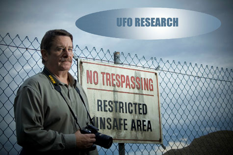 Photo of UFO Researcher James Clarkson.