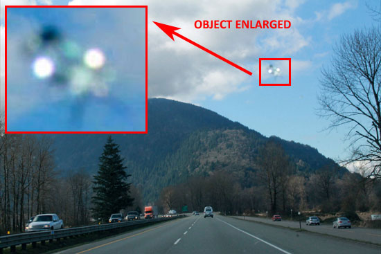 PHOTO OF OBJECT LATER DISCOVERED ON PHOTO.