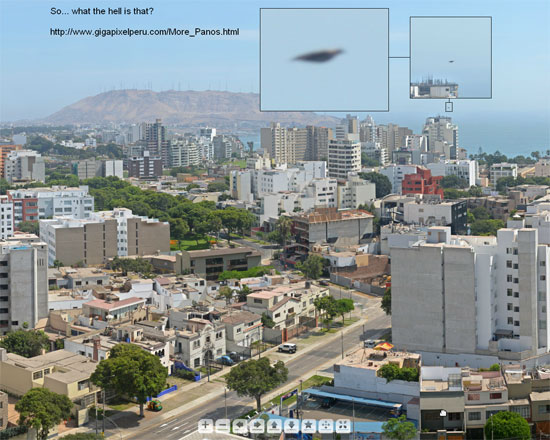 PHOTO & ENLARGEMENT OF OBJECT THAT APPEARED IN BACKGROUND.