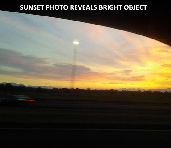WITNESS DISCOVERED BRIGHT LIGHT AFTER VIEWING PHOTO.