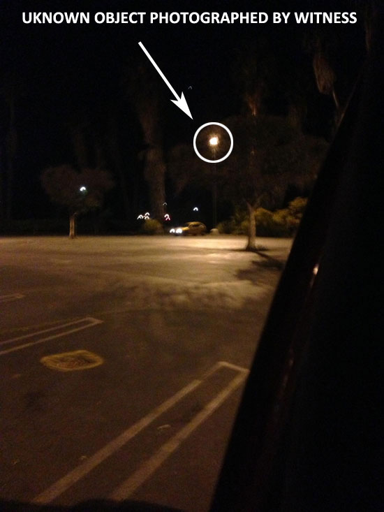OBJECT WAS FOUND IN PHOTO, BUT WAS NOT SEEN BY WITNESS.