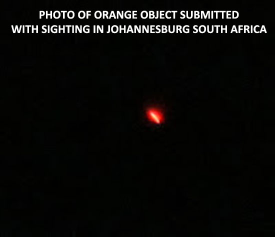 PHOTO SUBMITTED WITH JOHANESBURG, SOUTH AFRICA SIGHTING.