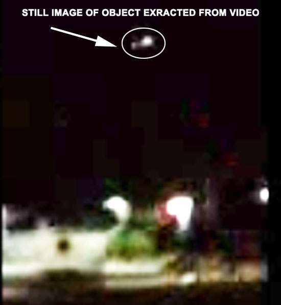STILL IMAGE EXTRACTED FROM VIDEO ENLARGED ABOUT 2X.