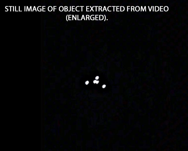 STILL IMAGE OF OBJECT EXTRACTED FROM VIDEO (ENLARGED).
