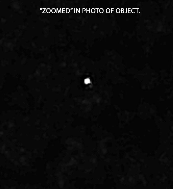 """ZOOMED"" IN PHOTO OF OBJECT."