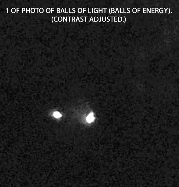 """1 OF PHOTOS OF """"BALLS OF ENERGY."""""""