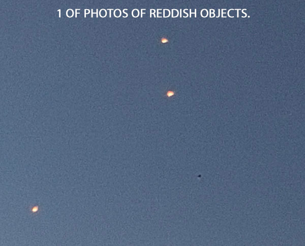 1 OF PHOTOS OF REDDISH OBJECTS.