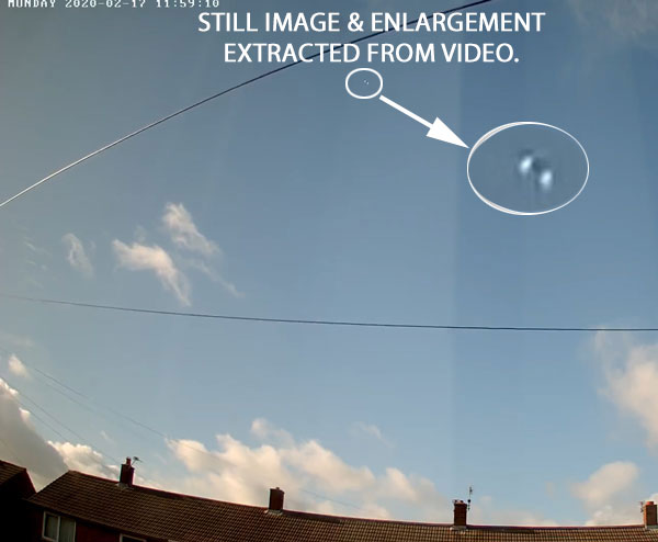 Still Image & Enlargement Extracted From Video.