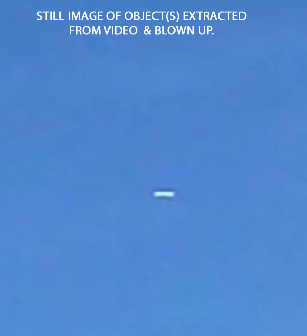 STILL IMAGE OF OBJECT(S) EXTRACTED FROM VIDEO & ENLARGED.