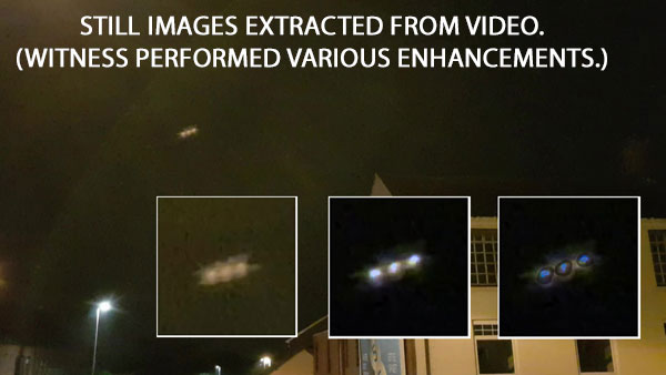 STILL IMAGES EXTRACTED FROM VIDEO. (WITNESS PERFORMED VARIOUS ENHANCEMENTS.)