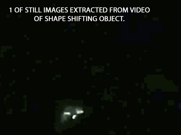 1 OF STILL IMAGES EXTRACTED OF SHAPE SHIFTING OBJECT EXTRACED FROM VIDEO.