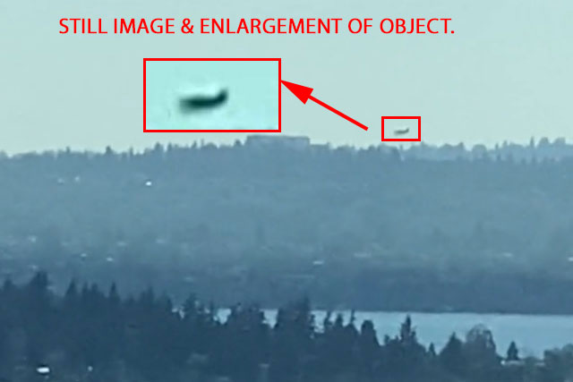 STILL IMAGE & ENLARGEMENT OF FAST MOVING OBJECT.