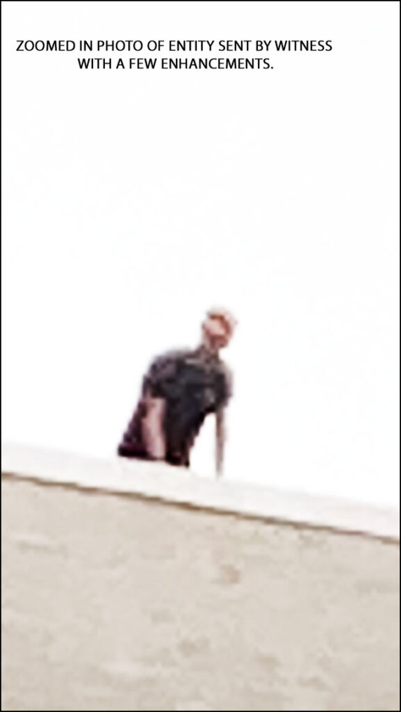 ZOOMED IN PHOTO OF ENTITY SENT BY WITNESS (WITH FEW ENHANCEMENTS.)
