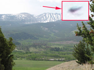 2ND OF 2 of PHOTOS & BLOWUPS OF OBJECT NOT SEEN BY WITNESS.